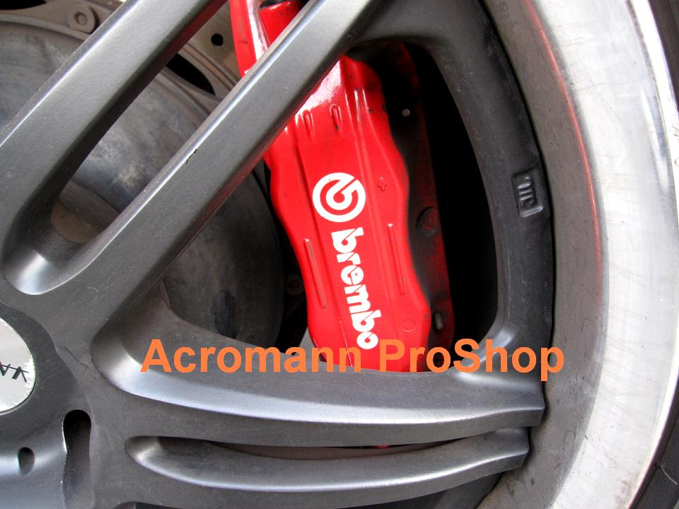 Brembo 4inch Brake Caliper Decal (Style#1) x 2 pcs